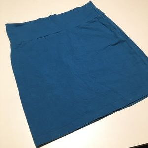 Charlotte Russe Teal Bodycon Skirt Juniors L